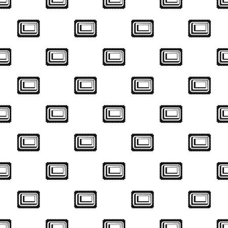 Sweet bakery pattern seamless Banco de Imagens