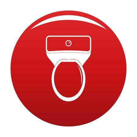 Lavatory icon red