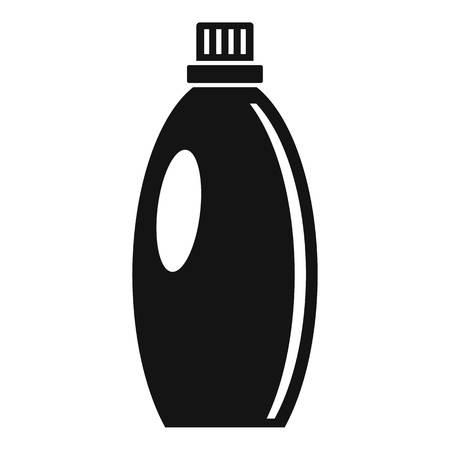 Gel wash bottle icon, simple style