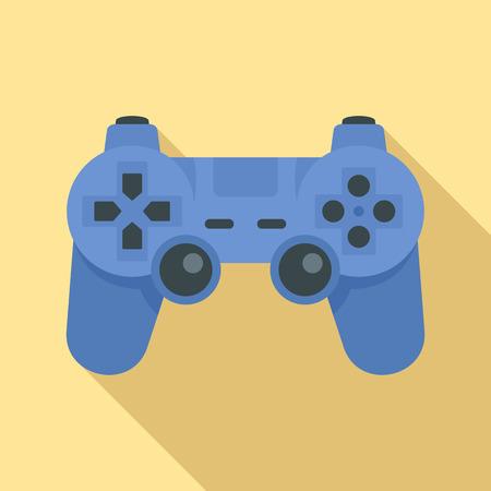 Modern gamepad icon, flat style