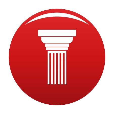 Expanding column icon red