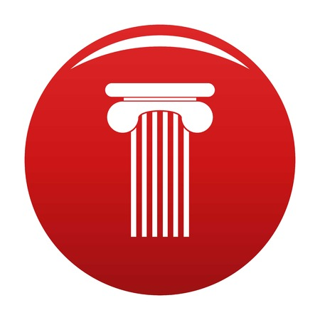 Top column icon red