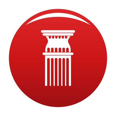 Column icon red