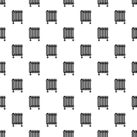 Oil radiator pattern seamless Banque d'images