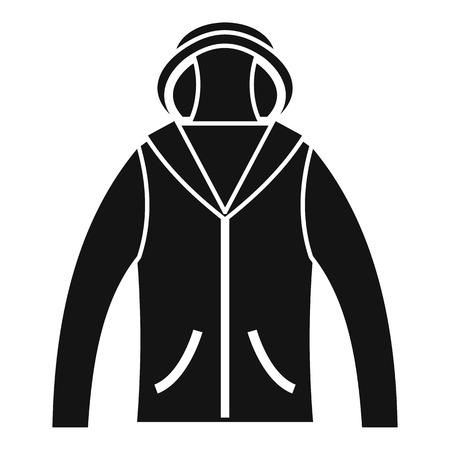 Hunting jacket icon, simple style Stok Fotoğraf