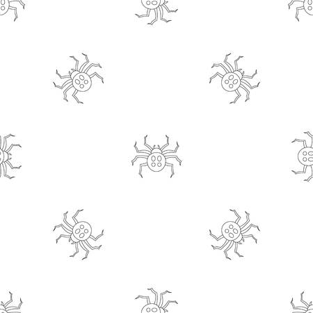Garden spider pattern seamless repeat geometric for any web design 写真素材