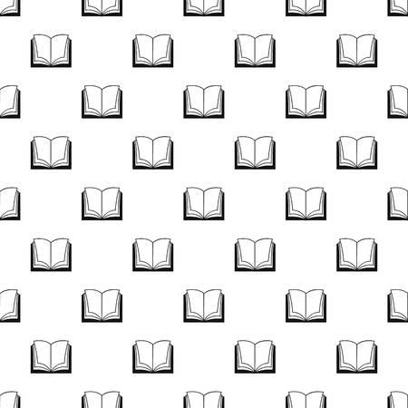 Book dictionary pattern seamless vector repeat geometric for any web design Vektoros illusztráció