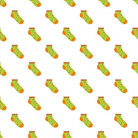 Small sock pattern seamless vector repeat for any web design