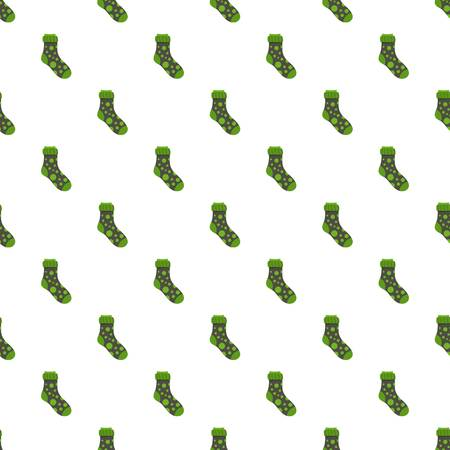 Spotted sock pattern seamless vector repeat for any web design
