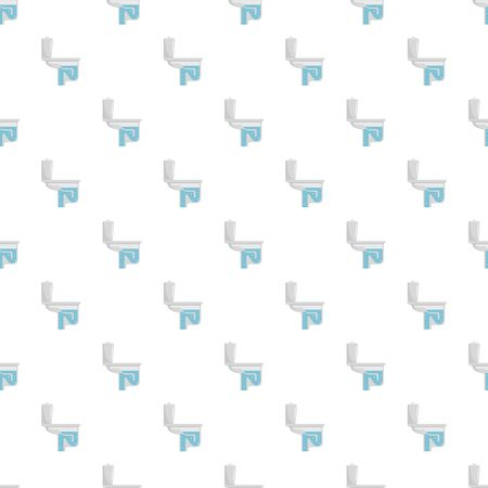 Toilet equipment pattern seamless vector