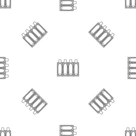 Suppositories pattern seamless vector Çizim