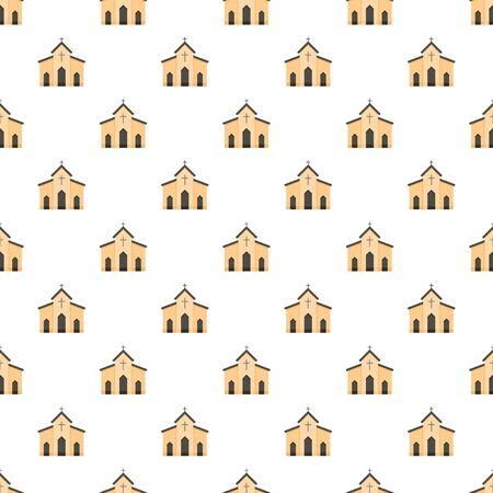 Chapel pattern seamless vector