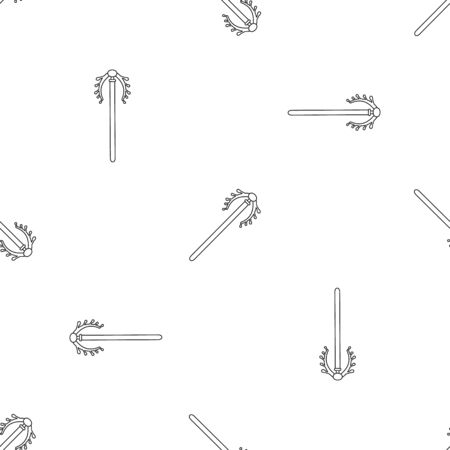 Contraception tool pattern seamless vector Banque d'images - 125032431