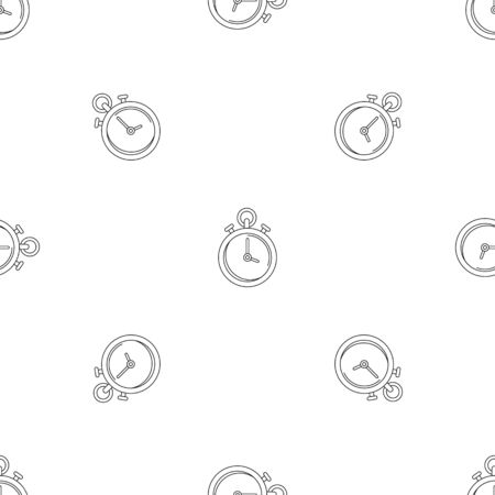 Contraceptive stopwatch pattern seamless vector repeat geometric for any web design Banque d'images - 125032391