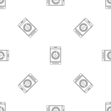Menstrual mobile pattern seamless vector Banque d'images - 125032349