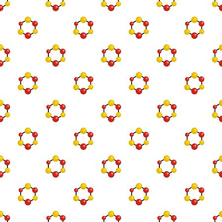 Science lattice pattern seamless vector Vectores