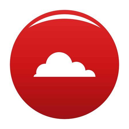 Cirrus cumulus icon, vector illustration