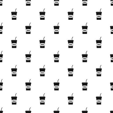 Juice pattern seamless, vector illustration