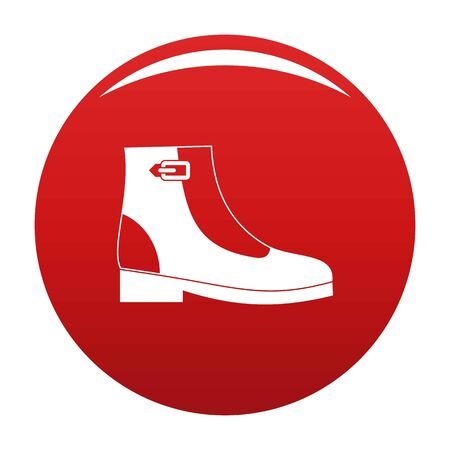 Woman boots icon, vector illustration