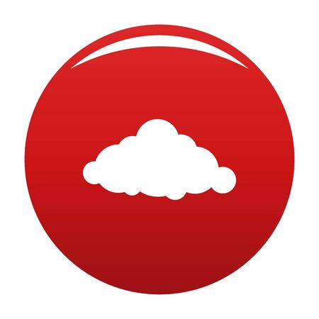 Fixed cloud icon, vector illustration