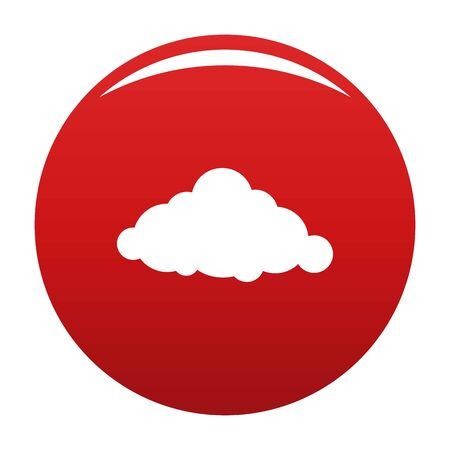 Fixed cloud icon, vector illustration Illustration