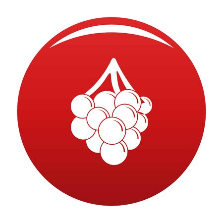 Grape icon, vector illustration