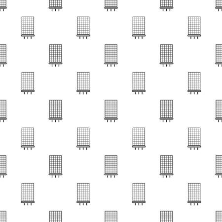 Solar battery pattern seamless repeat geometric for any web design Archivio Fotografico - 126980546