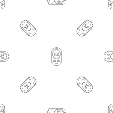 Glucose meter pattern seamless repeat geometric for any web design