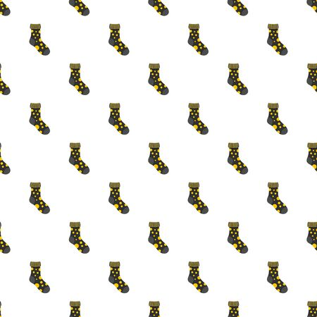 Textile sock pattern seamless repeat for any web design