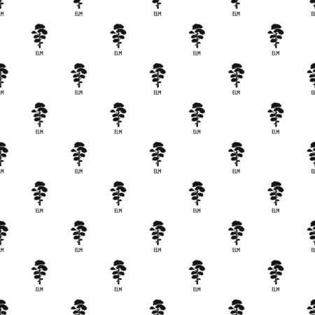 Elm tree pattern seamless repeat geometric for any web design Фото со стока