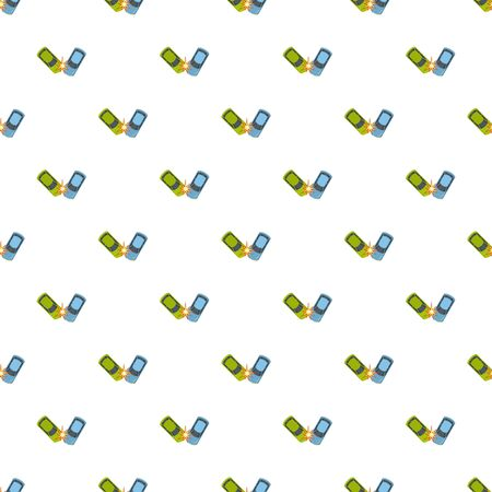 Hard collision pattern seamless repeat for any web design Stock Photo