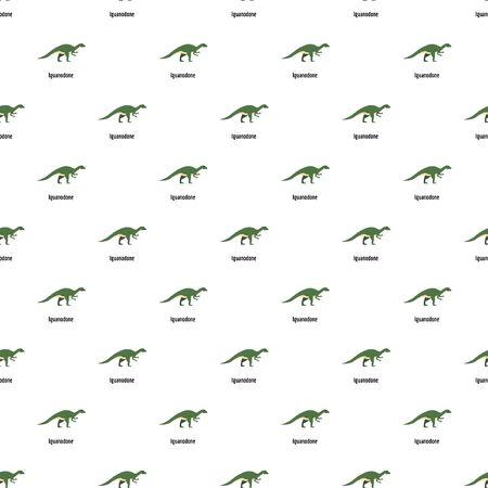Iguanodone pattern seamless vector