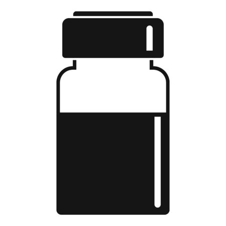 Liquid injection icon, simple style