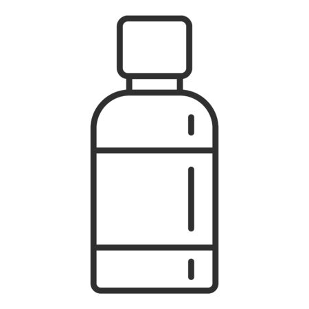 Medical spray icon, outline style