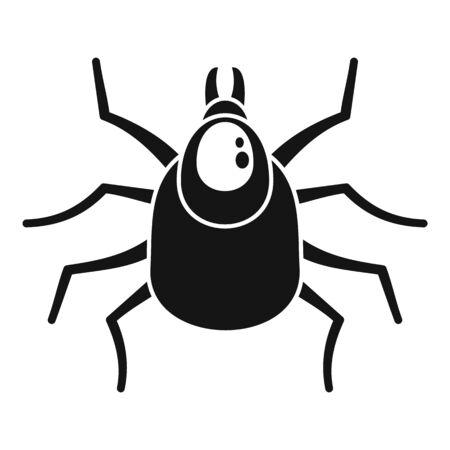 Mite icon, simple style Illustration