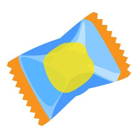 Package gum icon, cartoon style Stock Illustratie