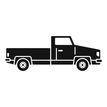 Pickup icon, simple style Foto de archivo - 129587275