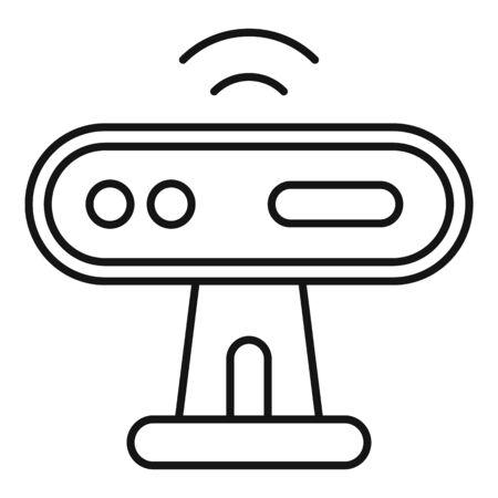 Web camera sensor icon, outline style 스톡 콘텐츠 - 129587306