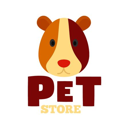 Pet store animal , flat style Иллюстрация