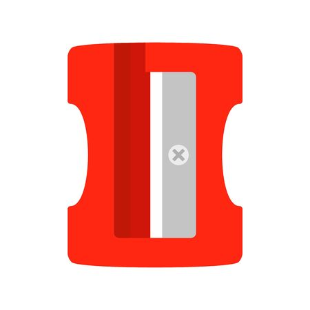 Sharpener icon, flat style 스톡 콘텐츠 - 130164331
