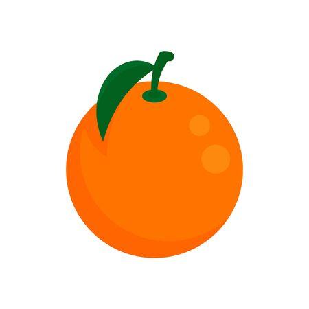 Grapefruit icon, flat style Illusztráció