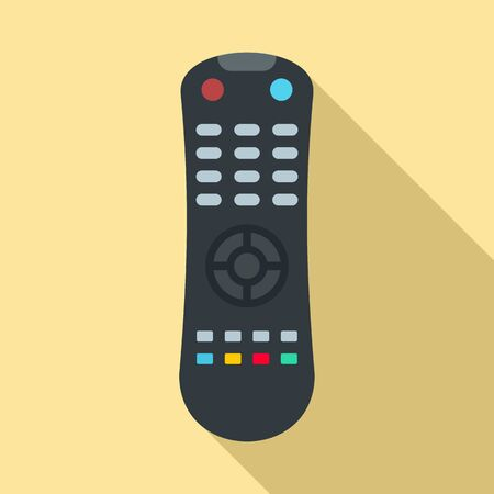 Remote control icon. Flat illustration of remote control vector icon for web design Stock Illustratie