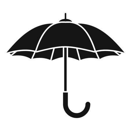 Umbrella icon, simple style Çizim