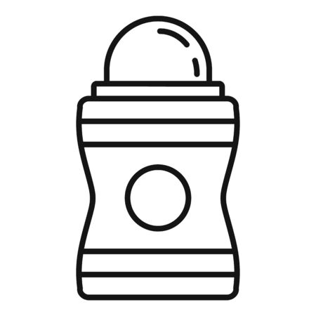 Hygiene deodorant icon, outline style