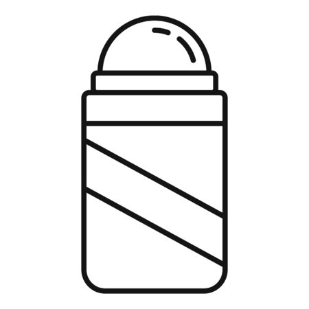 Beauty deodorant icon, outline style