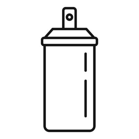 Perfume aerosol deodorant icon, outline style