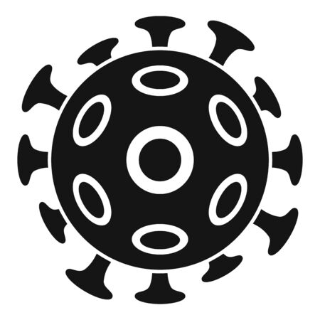 Cancer cell icon, simple style