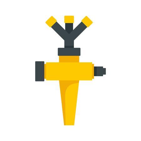 Sprinkler icon, flat style Archivio Fotografico - 131119439