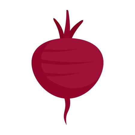 Beetroot icon, flat style
