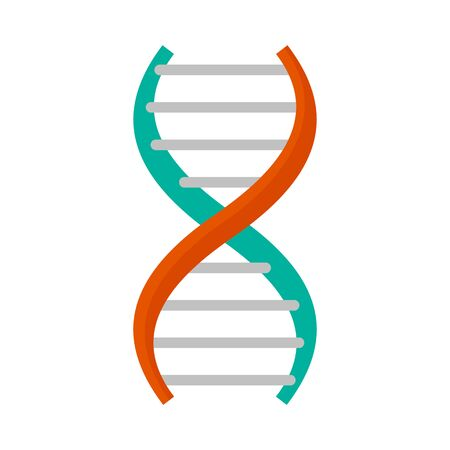 Dna formula icon. Flat illustration of dna formula vector icon for web design Иллюстрация
